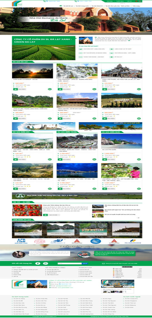 website green da lat