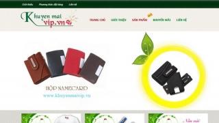 Thiết kế web Shop Khuyến Mãi VIP