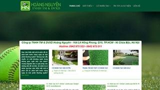 Thiết kế web site CỎ SÂN VƯỜN