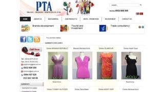 Thiết kế web Công Ty Dịch vụ - Du Lịch P.A .T