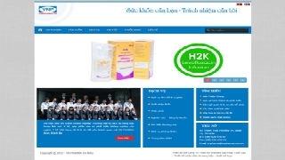 Thiết kế website VN PHARMA CÀ MAU