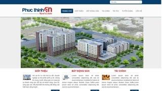 Thiết kế web Công ty Phúc Thịnh An