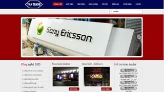 Thiết kế web Công ty Vạn Thành