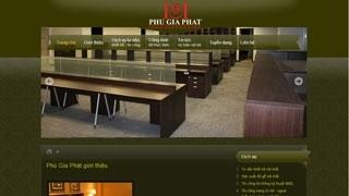 Thiết kế Website TTNT Phú Gia Phát