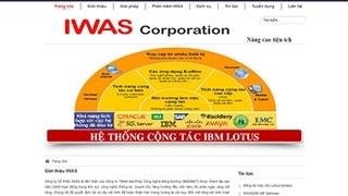Thiết kế web IWAS COPORATION