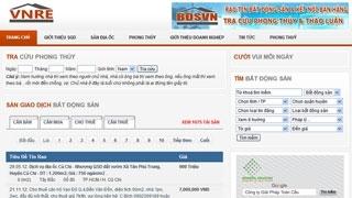 Thiết kế Website Bất Động Sản Việt Nam