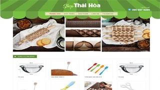Thiết kế website Shop Thái Hòa