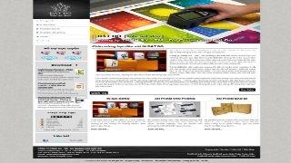 Thiết kế web CÔNG TY IN ẤN ĐẤT ĐỎ