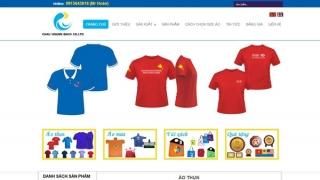 Thiết kế web Shop Châu Hoàng Bách