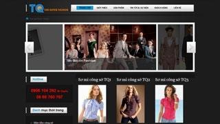 Thiết kế Web Thời Trang Tân Quyền