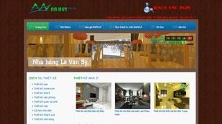 Thiết kế Website Nội Thất An Huy