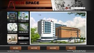 Thiết kế web Công ty cổ phần Arch Space